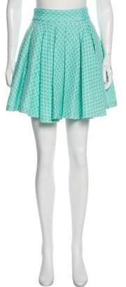 Alice + Olivia Pleated Mini Skirt