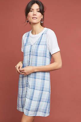 Cloth & Stone Plaid Buttondown Dress