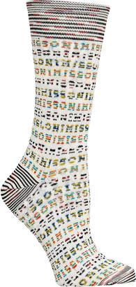 Missoni Logo Knit Socks