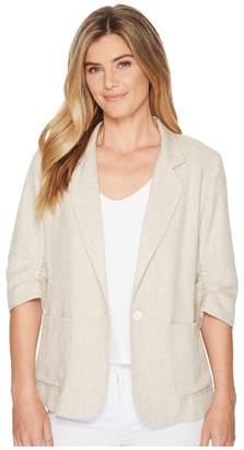 Karen Kane Ruched Sleeve Jacket Women's Jacket