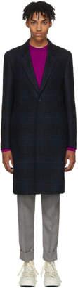 Paul Smith Multicolor Wool Plaid Coat