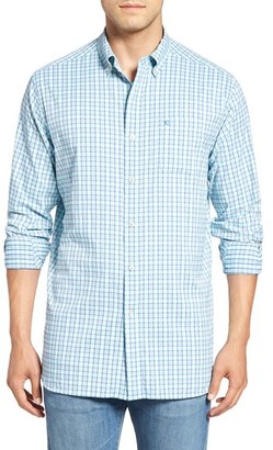 Men's Southern Tide Tortuga Classic Fit Plaid Sport Shirt $115 thestylecure.com