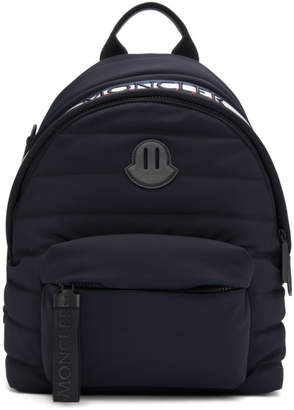 Moncler Black Soft Shell Pelmo Backpack