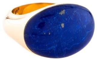 Lapis Vhernier 18K Lazuli Doublet Cocktail Ring