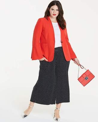 Fashion World Fluted Sleeve Blazer