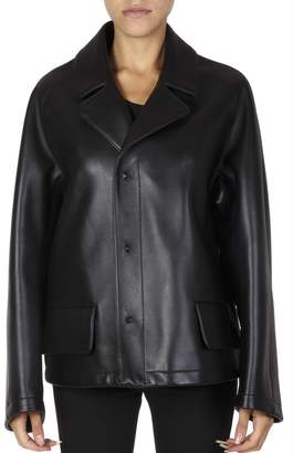 Maison Margiela Black Leather Jacket