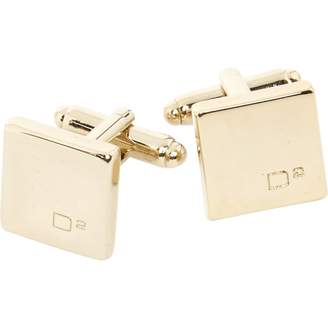 DSQUARED2 Gold Metal Cufflinks
