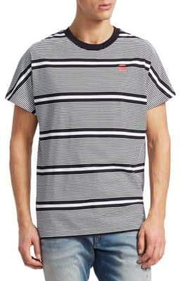 G Star Collyde Stripe Cotton T-Shirt