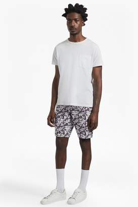French Connection Bail Peach Pie Twill Printed Shorts
