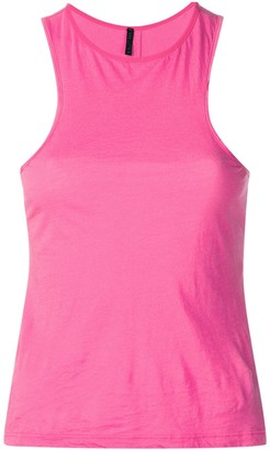 Unravel Project fuchsia tank top