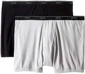 Jockey Big Man Cotton Boxer Brief 2-Pack Men's Underwear