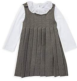 Ralph Lauren Baby Girl's Two-Piece Dress& Bodysuit Set