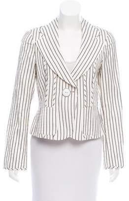 Armani Collezioni Long Sleeve Printed Blazer