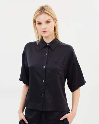Theory Easy PJ Button-Down Shirt