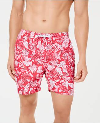 "Trunks Surf & Swim Co. Men's Sano Sea Turtle Bloom Printed 6.5"" Swim"