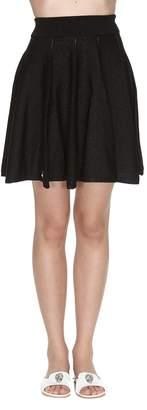 Philipp Plein Knit Mini Skirt