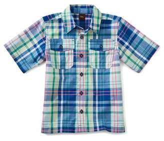 Tea Collection Plaid Woven Shirt