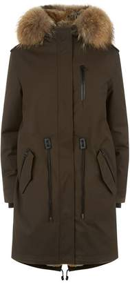 Mackage Rabbit Lined Down Parka