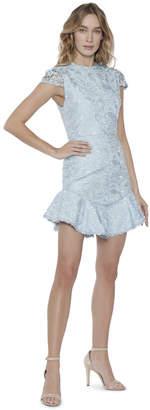 Alice + Olivia Rapunzel Curve Hem Cocktail Dress