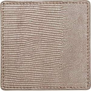 Barneys New York Tejus-Stamped Square Coaster - Brown
