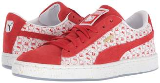 Hello Kitty Puma Kids Suede Classic x Girl's Shoes