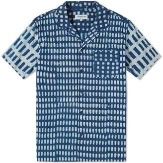 YMC Short Sleeve Malick Dot Print Shirt