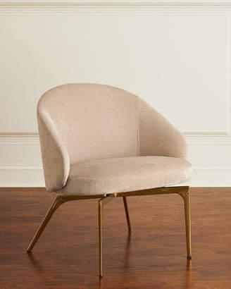 Interlude Home Cynthia Chenille Lounge Chair