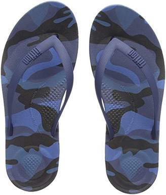 FitFlop Men's IQUSHION CAMO Open Toe Sandals,44 EU