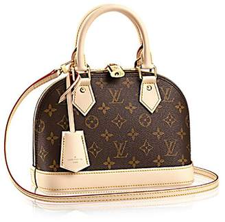 Louis Vuitton Monogram Canvas ALMA BB Hand Cross-Body Carry Handbag Article: M53152