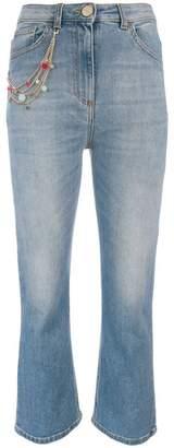 Elisabetta Franchi kick flare jeans