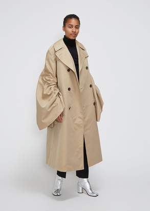 Junya Watanabe Gathered Sleeve Trench
