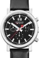 Mondaine Mens Swiss Railways Chronograph Watch A6903030414SBB