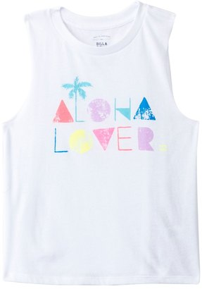 Billabong Girls' Aloha Lover Muscle Tee (4yrs14yrs) - 8132980