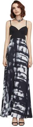BCBGMAXAZRIA Viviane Broken Reflection Maxi Dress