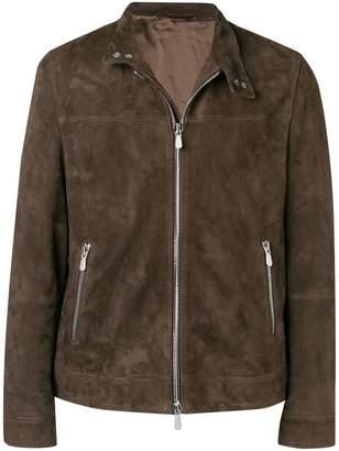 Eleventy front zip jacket