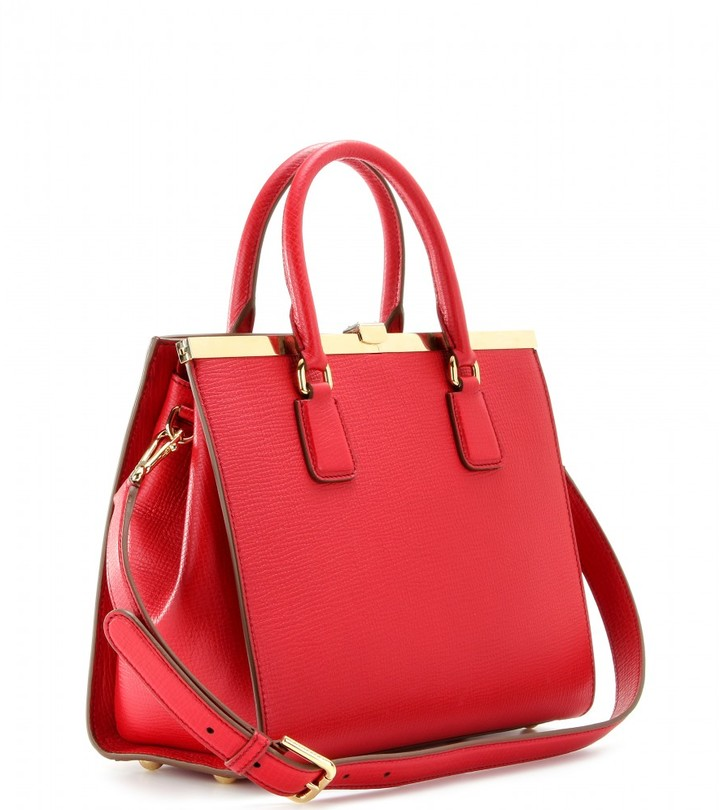 Dolce & Gabbana Eva textured-leather tote