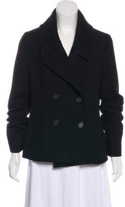 Celine Double-Breasted Wool Jacket