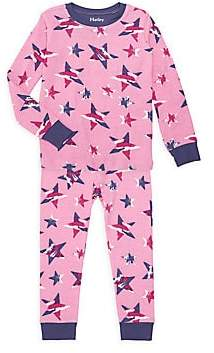 Hatley Little Girl's & Girl's Twinkle Stars Two-Piece Pajama Set