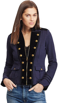 Ralph Lauren Denim & Supply Velvet Lapel Jacket $198 thestylecure.com