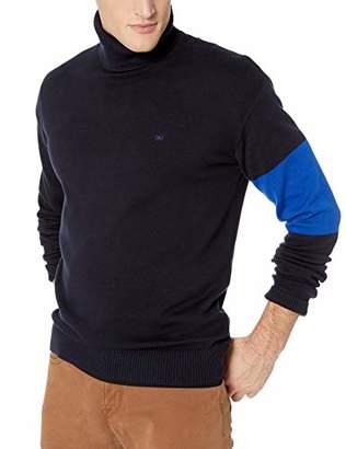 Calvin Klein Jeans Men's Turtleneck Logo Sweater