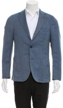Fay Virgin Wool Two-Button Blazer w/ Tags