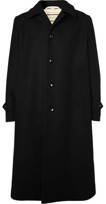 Gucci Oversized Wool Coat - Black