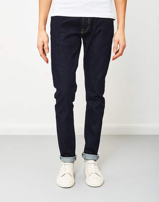 Edwin ED-85 Slim Tapered Drop Crotch Red Listed Selvage Denim Rinsed