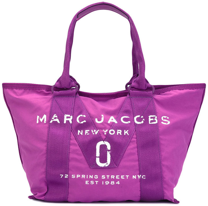 Marc Jacobs Marc Jacobs logo print tote