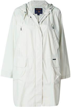 Woolrich zipped parka coat