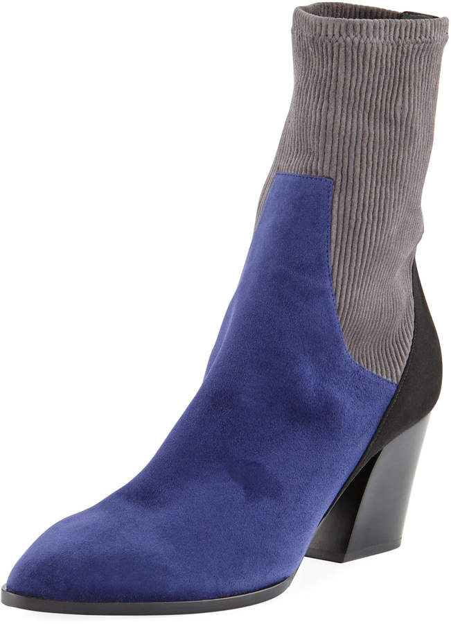 Pierre Hardy Rodeo Colorblock Ankle Booties