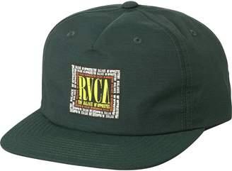 RVCA Boxed In Strapback Hat - Men's