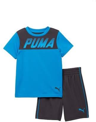 Puma Performance Tee & Shorts 2-Piece Set (Toddler Boys)