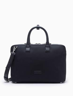 Calvin Klein engineered casual canvas satchel