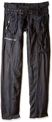 Pete & Greta Women's Belted Silk Marika Cargo Pant